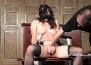 Amateur slave Jannas kinky fetish
