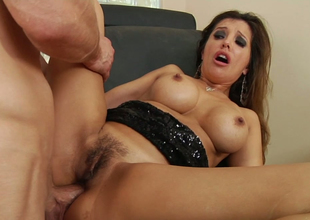 Horny neighbour analyzes big tittied babe Francesca Le