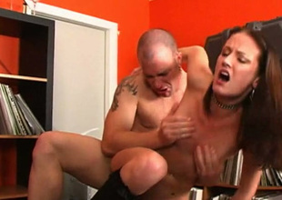 This lewd chick can't live without when her pulls her hair during sex and fucks her hard