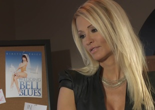 MILF Jessica Drake is being rammed missionary style in a story montage