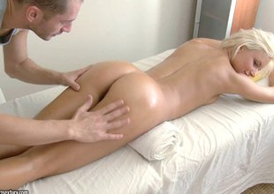 Ivy always visits the spa where the masseuse copulates her