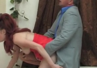 Afina and Frank daddy sex action