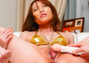 Hottest Japanese whore Aoi Yuuki in Fabulous JAV uncensored Squirting scene