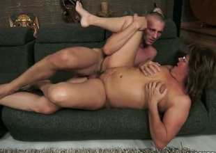 Redhead Gigi M gets some in steamy sex scene
