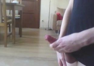Playing with myself  big cumshot