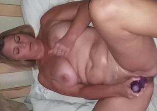 wife masturbates for ally