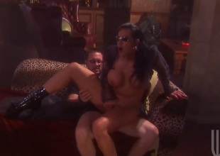 Exotica makes her dirty dreams a come true with dudes snake in her mouth