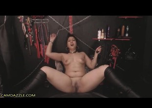 Breasty Indian Chick BDSM